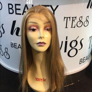 Accessories - WIG swisslace Freepart Human hair Blende Blonde